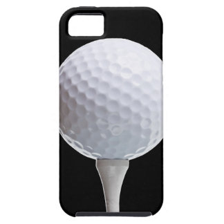 Golf Ball & Tee on Black - Customized Template iPhone SE/5/5s Case