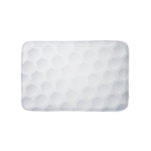 Golf Ball Texture Bath Mat Zazzle