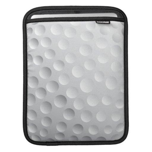 golf ball texture design iPad sleeves