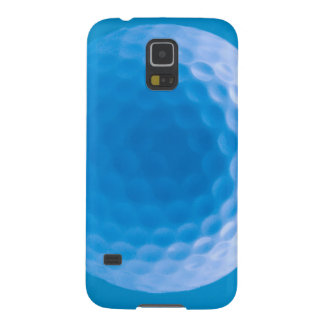 Golf Ball Texture Dimples Arctic Blue Galaxy S5 Case