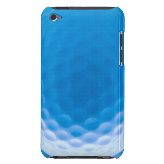 Golf Ball Texture Dimples Arctic Blue iPod Touch Case