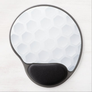 Golf ball texture gel mouse pad