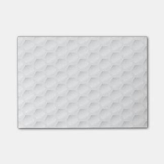 Golf ball texture post-it notes