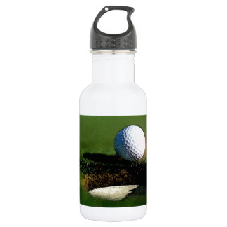Golf Ball & the Hole 18oz Water Bottle