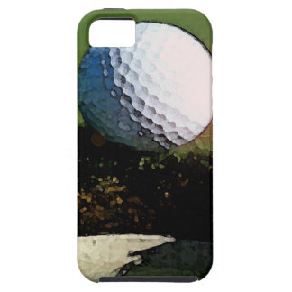Golf Ball & the Hole iPhone SE/5/5s Case