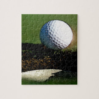 Golf Ball & the Hole Jigsaw Puzzle