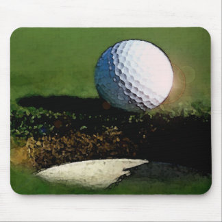 Golf Ball & the Hole Mouse Pad