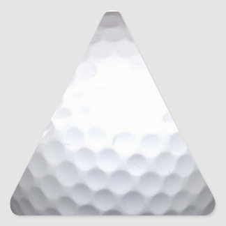 golf ball triangle sticker
