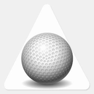 Golf Ball Triangle Stickers
