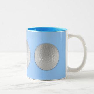 Golf Ball Two-Tone Coffee Mug
