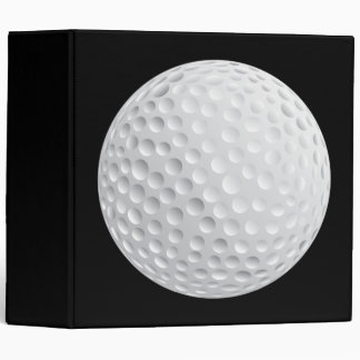 golf ball vector graphic binder