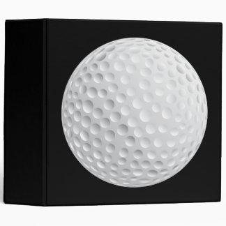 golf ball vector graphic binder