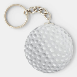 golf ball vector graphic key chains
