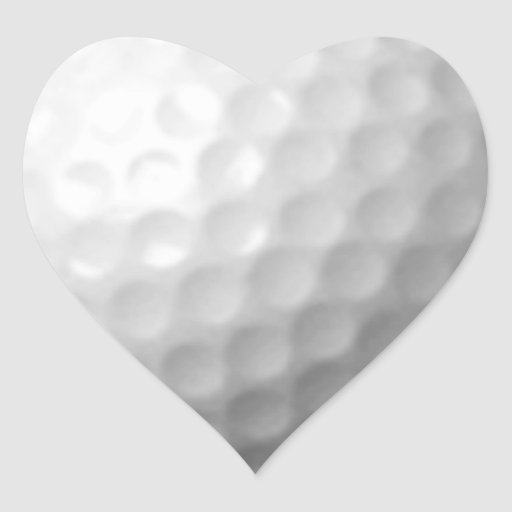 GOLF BALL VECTOR ICON GRAPHICS greens WHITE SPORTS Sticker