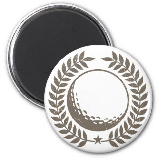 Golf Ball Vintage Design Magnet