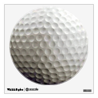Golf Ball Wall Decal