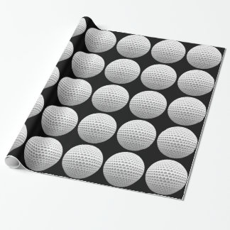 Golf Ball Wrapping Paper
