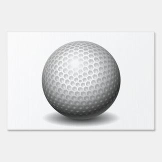 Golf Ball Signs
