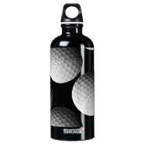 golf balls aluminum water bottle