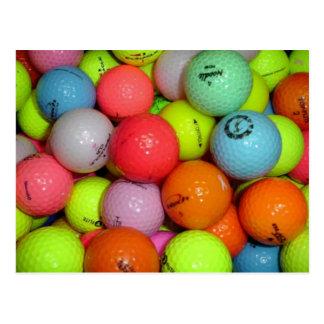 Golf Balls And More Golf Balls Postcard