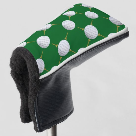 Golf balls and Tees Golf Head Cover