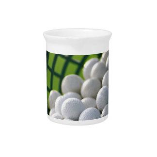 Golf Balls Bucket Drink Pitcher