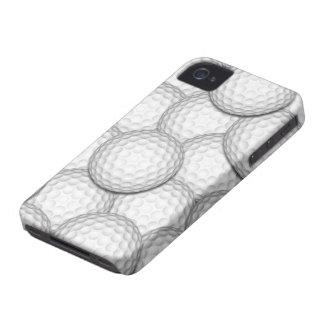 Golf Balls Collage Case-Mate iPhone 4 Case