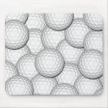 Golf Balls Collage Mousepads