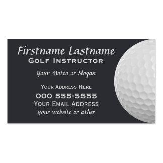 Golf Balls custom business cards