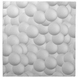 Golf Balls custom cloth napkins