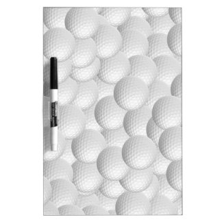 Golf Balls custom message boards