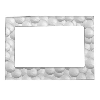 Golf Balls custom picture frame Photo Frame Magnets