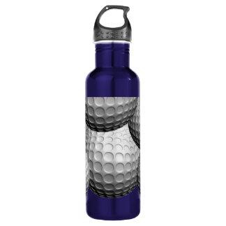 Golf Balls Customizable Water Bottle