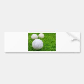 Golf Balls In Grass Bumper Sticker