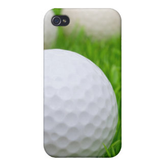Golf Balls In Grass iPhone 4 Cover