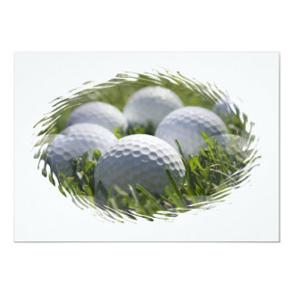 Golf Balls Invitation