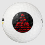 [Skull crossed bones] keep calm and schlemiel, schlimazel, hasenpfeffer incorporated!  Golf Balls Pack Of Golf Balls
