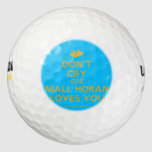 [Two hearts] don't cry coz niall horan loves you  Golf Balls Pack Of Golf Balls