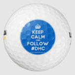 [Crown] keep calm and follow #dhc  Golf Balls Pack Of Golf Balls