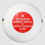 [Campfire] pacaran ambek kimcil iku kudu sabar cok!  Golf Balls Pack Of Golf Balls