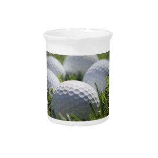 Golf Balls Pitcher