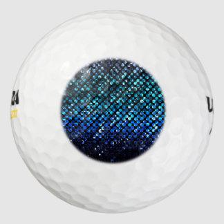 Golf Balls Purple Crystal Bling Strass