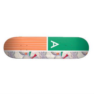 Golf Balls & Tees Pattern Skateboards
