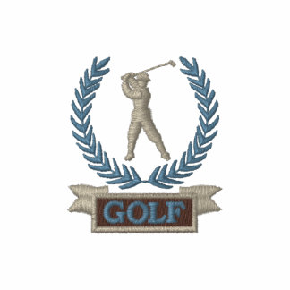 Golf Banner Logo Polo Shirt