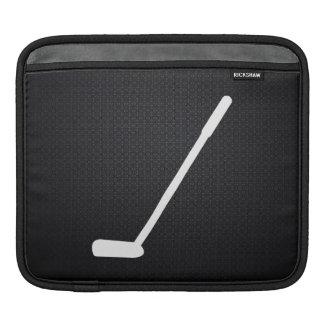 Golf Bats Pictogram iPad Sleeve