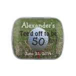 Golf Birthday Party Favors-Mint Candy Tins