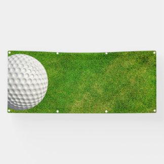 golf blank tee time banner