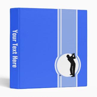 Golf; Blue Binder