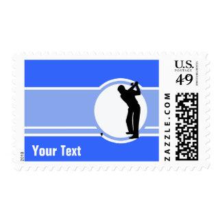 Golf; Blue Postage