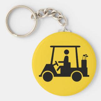 Golf Buggy Key Chain